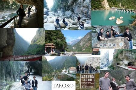 In der Taroko Schlucht